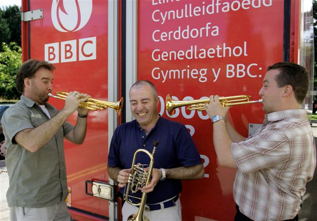 BBC NOW Trumpet Section